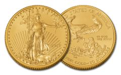 2019 $10 1/4-oz Gold American Eagle BU