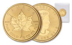 2019 Canada $20 1/2-oz Gold Maple Leaf BU Mint Sealed