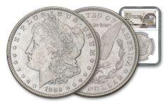 1889 $1 MORGAN VAM18A NGC MS64 NY BANK HOARD