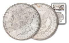 1889 Morgan Silver Dollar VAM 16 New York Bank Hoard NGC MS64+
