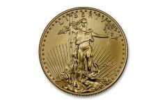 2019-W $50 1-oz Burnished Gold American Eagle BU