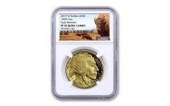 2019-W $50 1-oz Gold Buffalo NGC PF70UC Early Releases - Buffalo Label