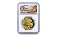 2019-W $50 1-oz Gold Buffalo NGC PF70UC First Releases - Roosevelt Label