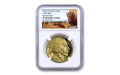 2019-W $50 1-oz Gold Buffalo NGC PF70UC First Releases - Buffalo Label