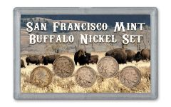1930–1937-S Buffalo Nickel 5-Piece Set VF