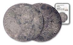 1700-1762 France Silver ECU Shipwreck La Dromadaire NGC Genuine