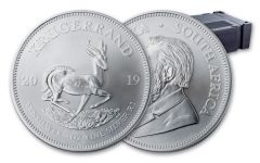 2019 South Africa 1-oz Silver Krugerrand BU 500-Piece Monster Box