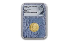 2019-W Apollo 11 50th Anniversary $5 Gold NGC MS70 Early Releases