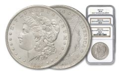 1883–1885-O $1 Morgan Silver Dollar 3-pc Great Montana Collection Set NGC MS66