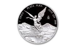 2019 Mexico-MO 1-oz Silver Libertad Proof