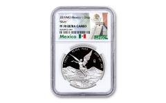2019-MO Mexico 1-oz Silver Libertad NGC PF70UC - Mexico Label