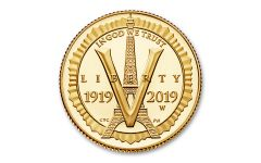 2019-W $5 Gold American Legion 100th Anniversary Commemorative Proof