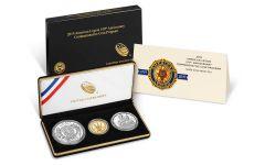 2019-P-S-W American Legion 100th Anniversary Commemorative 3-Piece Proof Set