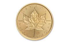 2019 Canada $50 1-oz Gold Maple Leaf Incuse BU