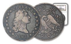 1795 $1 FLOWING HAIR NGC VF20
