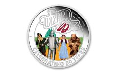 2019 Tuvalu $1 1-oz Silver Wizard of Oz™ 80th Anniversary Proof