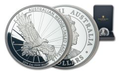2019 Australia $2 2-oz Silver Wedge Tailed Eagle Piedfort Proof