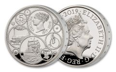 2019 Great Britain £5 Silver Queen Victoria 200th Anniversary Proof