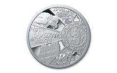 2019 France 10€ Silver Notre Dame Cathedral Reconstruction Proof