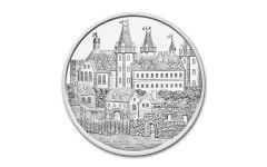 2019 Austria 1-oz Silver Wiener Neustadt BU - 825th Anniversary of Vienna Mint