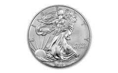 2019-W $1 1-oz Burnished Silver American Eagle BU