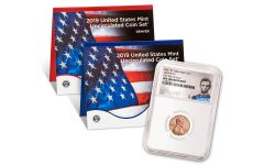 2019-P-D United States Mint Set + 2019-W Lincoln Cent NGC Gem Uncirculated First Day of Issue - Lincoln Label