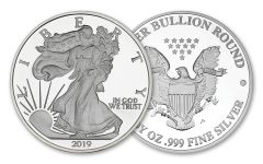 2019 5-oz Silver American Eagle Replica Medallion