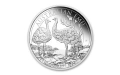 2019 Australia $1 1-oz Silver Emu Proof