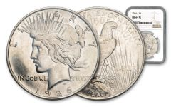 1926-S Peace Silver Dollar NGC MS64 PL