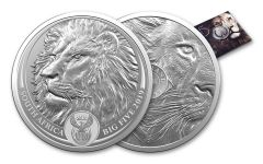SA 2019 1OZ SILVER BIG 5 LION UNC/BLISTER PACK