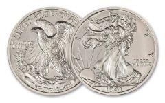 2-oz Silver American Coin Treasures Walking Liberty Half Dollar