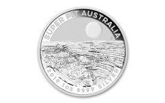 2019 Australia $1 1-oz Silver Super Pit Coin BU