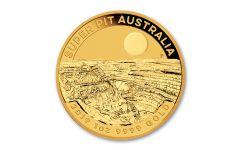 2019 Australia $100 1-oz Gold Super Pit Coin BU