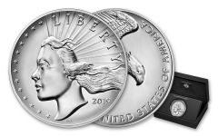 2019-P 2.5-oz Silver American Liberty High Relief Medal