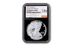 2019-S $1 Silver Eagle NGC PF69UC ANA Show Release w/Black Core
