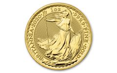 2020 Great Britain £100 1-oz Gold Britannia BU