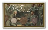 1865 Six Cent Collection Good-Fine 3 Pieces