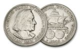 1892-1893-P 50 Cent Columbian Expo Commemorative XF