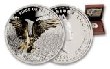 2013 Niue 1-oz Silver Birds Of Prey Osprey Proof