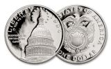 1994 Silver Dollar U.S. Capitol Bicentennial Commemorative Proof