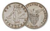 1903-1905 Philippines Silver Peso VF