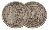 1892-S Morgan Silver Dollar VF