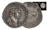 286-297 AD Roman Silver Denarius of Carausius NGC CH AU Star