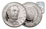 2009-P 1 Dollar Silver Lincoln Bicentennial NGC GEM PROOF Smithsonian Coin Classics