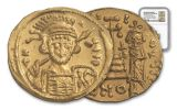 Byzantine Gold Heraclius Solidus NGC MS