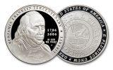 Benjamin Franklin 2 Pc Set NGC Genuine PF69 Smithsonian Coin Classics