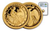 2016 Smithsonian 1/10-oz Gold 1876 Union Ultra-Cameo Gem Proof