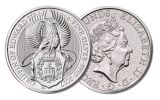 2017 Great Britain 5 Pound 2-oz Silver Queen's Beast The Griffin Uncirculated