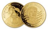 2017 5000 Franc 1-oz Gold Donald Trump Inaugural Releases Proof Uncirculated