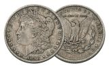 1898-P Morgan Silver Dollar VF